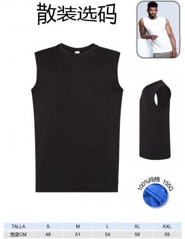 T1103-Camiseta tirante 100% algodon...