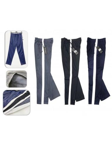 1004-单色 男士运动裤 滑料 加拉毛 M-3XL 一包5条