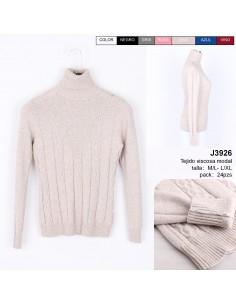 J3926 JERSEY MUJER PUNTO...